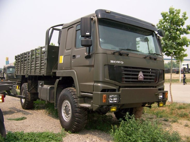 howo 4x4 military truck china using volvo fl cab cars trucks boats bikes pinterest. Black Bedroom Furniture Sets. Home Design Ideas