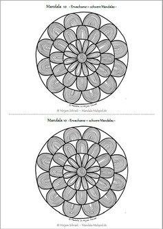 199 best mandalas zum ausdrucken f r kinder erwachsene images by mirjam schradi on pinterest. Black Bedroom Furniture Sets. Home Design Ideas