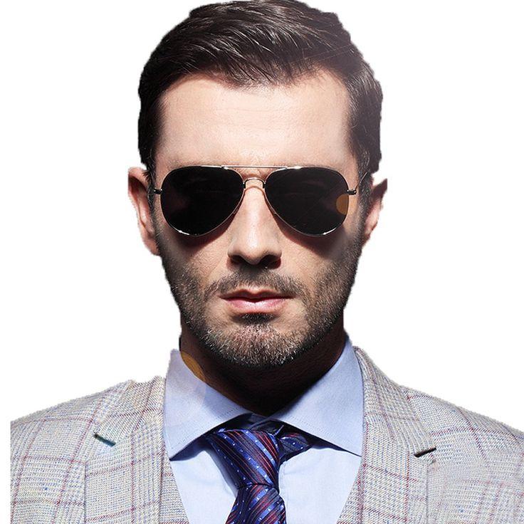 Aviator Sunglasses Metal Frame Colored Lens UV Protection For Men Women+Glasses Case