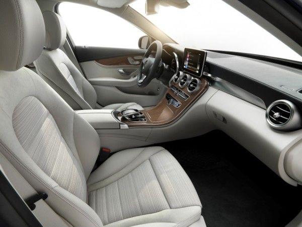 2015 Mercedes Benz C Class Estate luxury Interior1 600x450 2015 Mercedes Benz C Class Estate