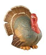 Very Large Paper Mache Turkey | Thanksgiving Turkey Centerpiece
