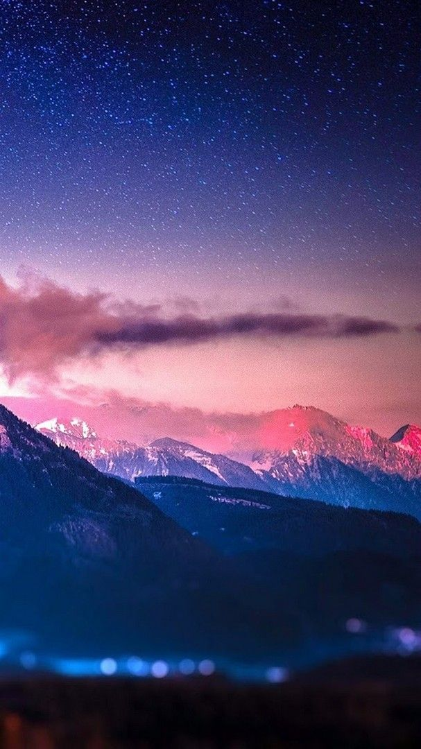 Snowy Mountain Iphone Stars Wallpaper 2020 Live Wallpaper Hd Baby Pink Wallpaper Iphone Nature Iphone Wallpaper Pink Wallpaper Iphone