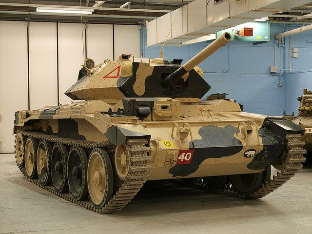 Crusader III Cruiser Tank Mk VI by Megashorts, via Flickr
