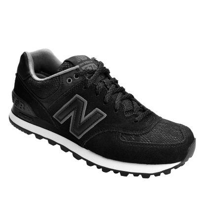 Tênis New Balance Nouveau Lace WL574NLA - Preto/Cinza