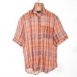 Franco Montanelli's Short Sleeves Linen Shirts