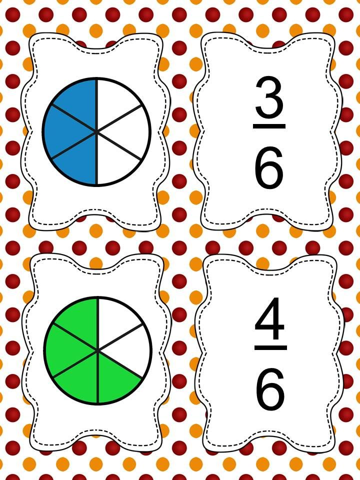 33 best Fractions images on Pinterest | Math fractions, Comparing ...