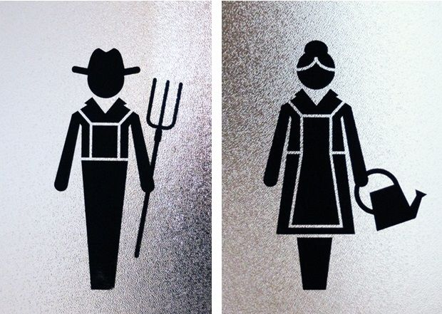Bathroom Signs In Germany 17 best images about toilet rooms on pinterest | toilets, jungle