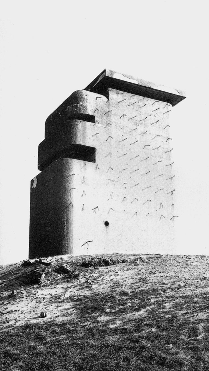from: Paul Virilio, Bunker Archeology, Buildings Photographed 1958-1965, Buildings Constructed 1942-1944