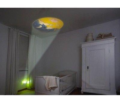 Nattlampe med lysbilde og sensor