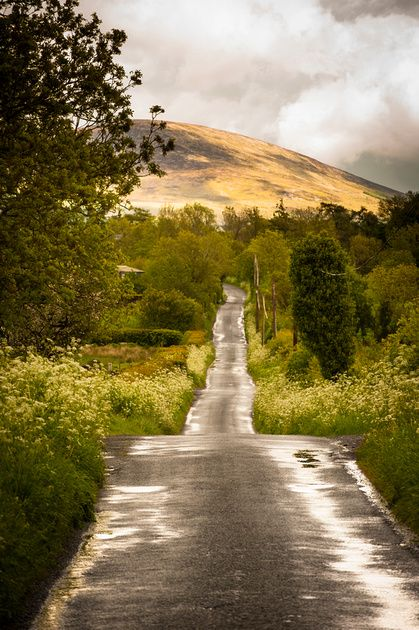 Toward Rathanna near Borris Co Carlow. A Magical Part of County Carlow.