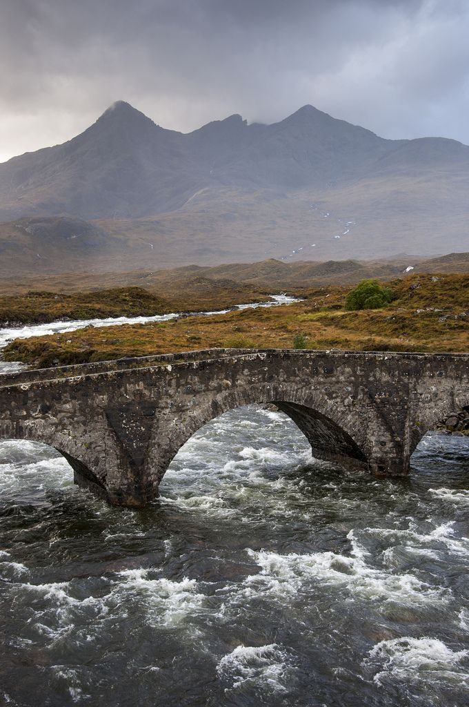 Sligachan, Isle of Skye, Scotland by Keartona