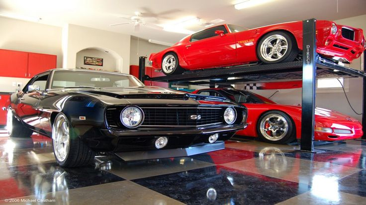 cool garage ideas cool garages 7 manly and cool garage ideas garage pinterest garage. Black Bedroom Furniture Sets. Home Design Ideas