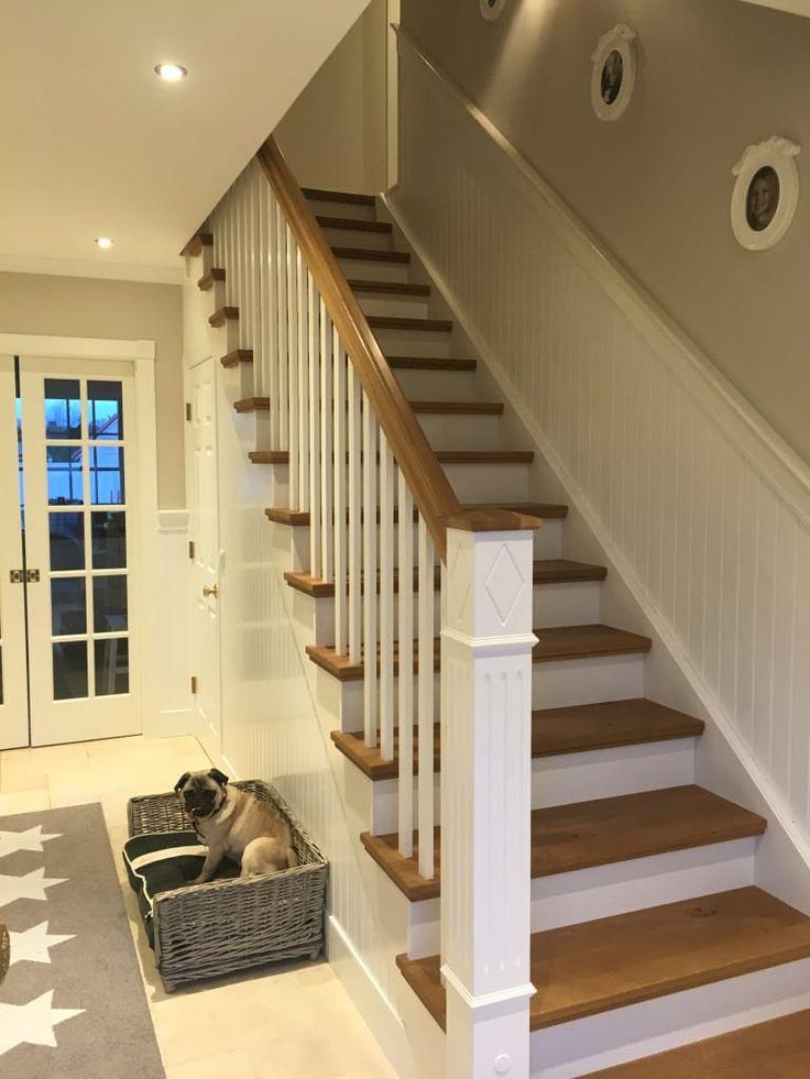 George l treppe: flur & diele von the white house american dream homes gmbh