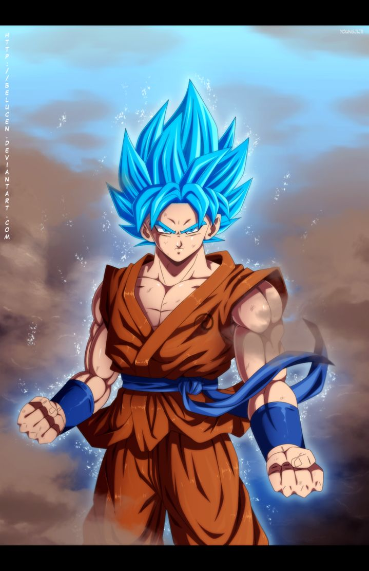 Super Saiyan God Super Saiyan Goku by belucEn | DRAGON ...