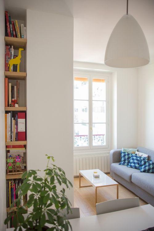 19 best Interieur images on Pinterest Accessories, Armchair and - faire une chambre dans un salon