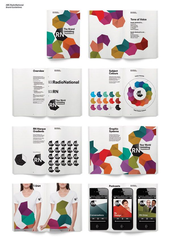 ABC RadioNational Rebrand | Create Design Awards 2013 | Brand Guidelines