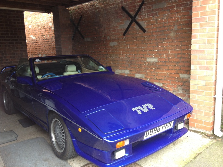 Love Going Out In The Tvr 350i