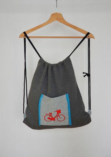 Plecak worek - Rower w BLOUZ  na DaWanda.com