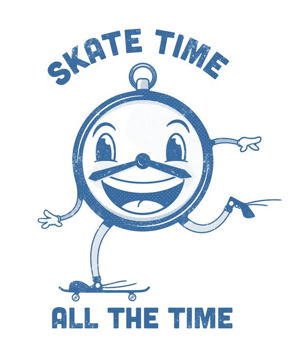 Roller Skating All The Time