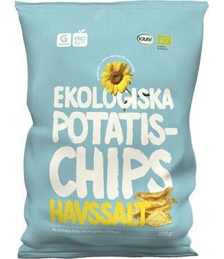 Ekologiska Chips Havssalt