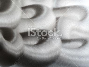 Twisted Shiny Metal Background by E.Sezer