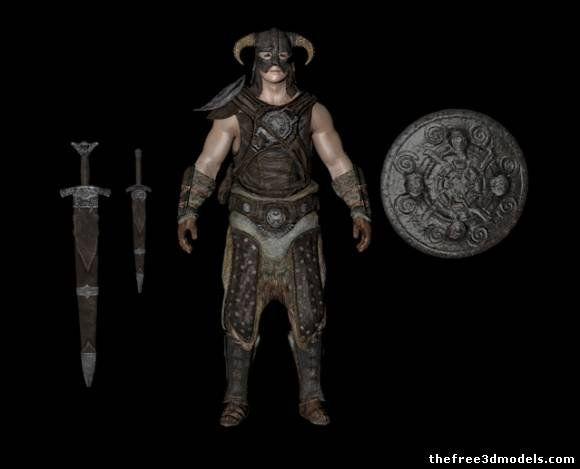 Dovahkiin 3d model free Sam Stuff Pinterest D