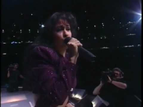 Selena quintanilla perez covering last dance and on the for Blanca quintanilla