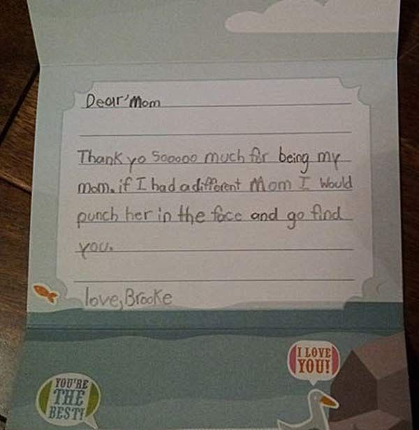 30 of the Funniest Letters Written by Kids