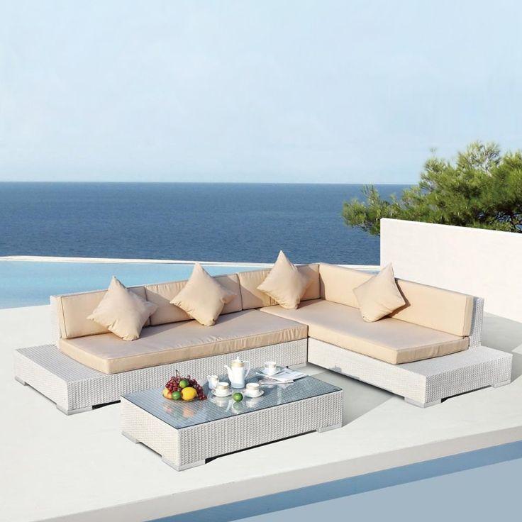 Vig Furniture VGSN-760389 Panama Modern Sectional Sofa Set   ATG Stores