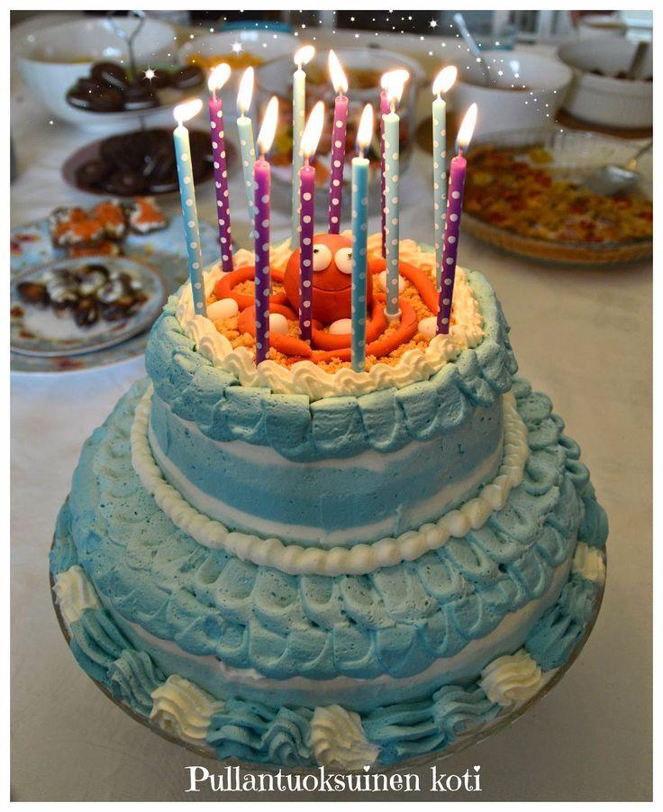 Octopus cake Sealife cake