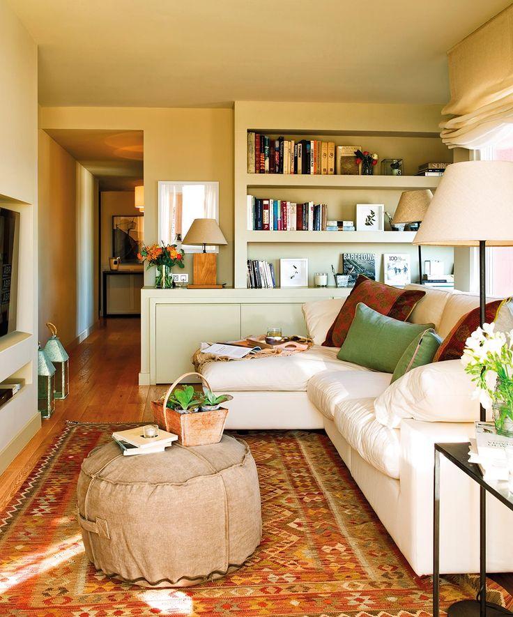 Living room. Saca el máximo partido a tu salón y disfrútalo · ElMueble.com · Salones.