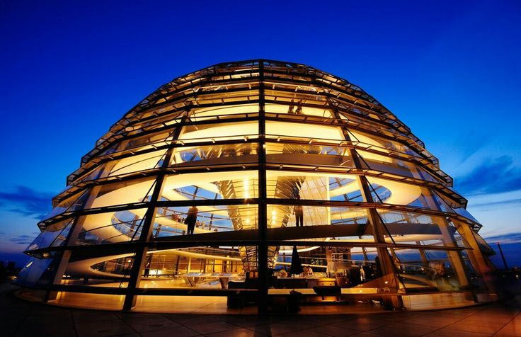 The Reichstag Building Dome, Berlin