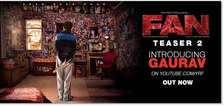 Yash Raj Films Releases Teaser #Trailer for Fan #IAmGaurav
