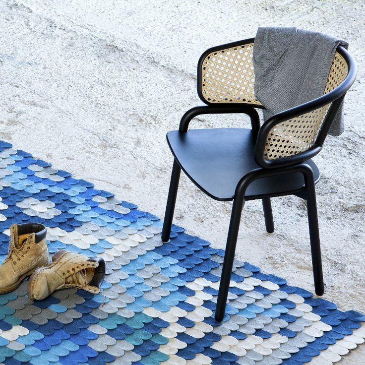 Silla · Chair Frantz de estilo Nórdico/Vintage 83x43x43 Inspirado en los diseños del siglo XIX. Madera de haya y colores personalizables. #ArmonySpaceBCN