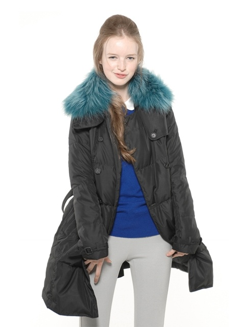 [ADDITIONAL DISCOUNTS][50% OFF][유인나,크리스탈,유진 착용] Double Trench Goose Down Coat