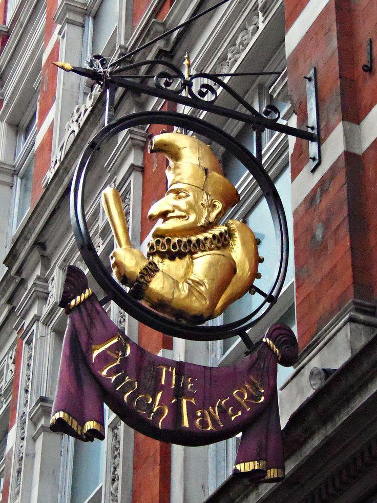 The Punch Tavern, Fleet Street, London | por teresue
