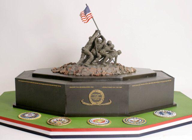war memorial cake   ... cakes to make this fabulous iwo jima memorial cake in honor of our