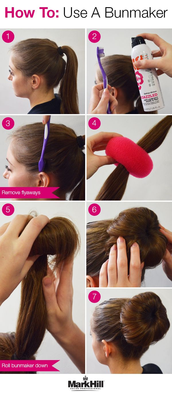 Not all sock buns are created equal. Follow this step-by-step to get the most out of your bun maker.