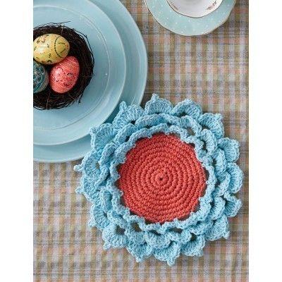 Yarnspirations Free Crochet Patterns : Spring Flower Yarnspirations Free Pattern Knit and ...