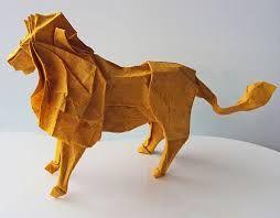 origami lion - Hľadať Googlom