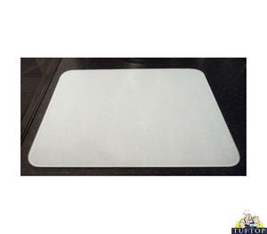 Incroyable Small Tuftop Glass Chopping Board In White Design