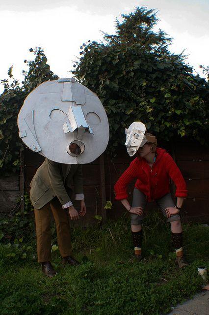 Dax Tran-Caffee – Cardboard Masks,