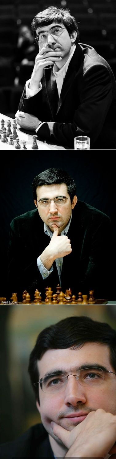 Vladimir Kramnik. Classical world champion (2000–2006). Undisputed world champion (2006-2007).