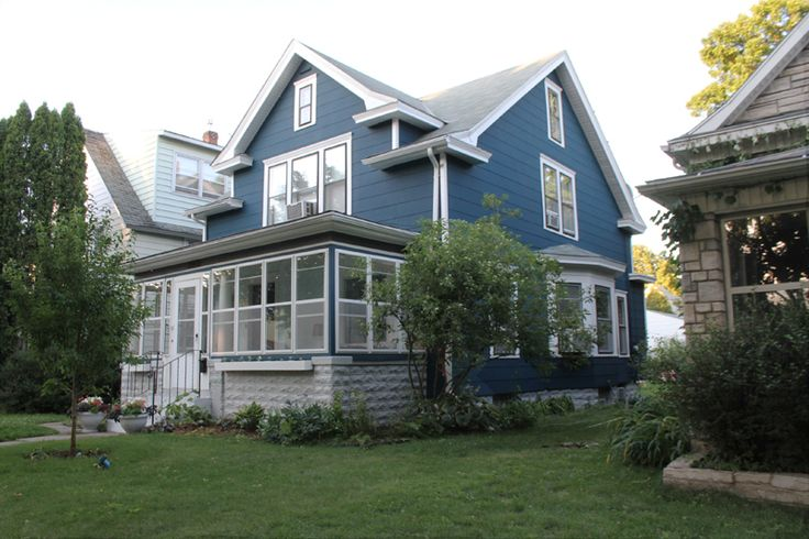 105 Best Blue Houses Images On Pinterest Blue Houses Arquitetura And Exterior Homes