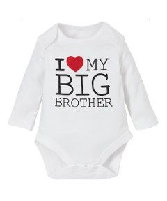 View details of Mothercare I Love My Big Brother Bodysuit