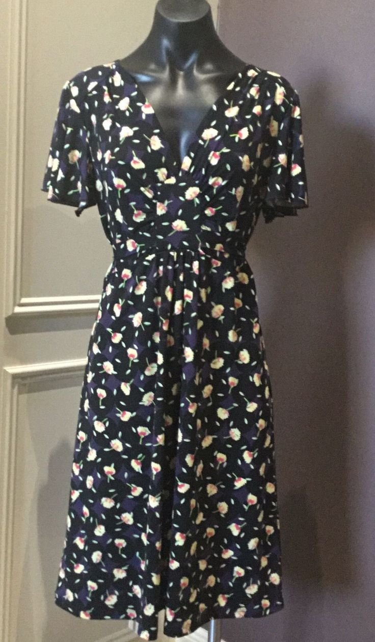Leona EDMISTON Dress 12 Floral Multi Coloured Stunning BNWOT New | eBay