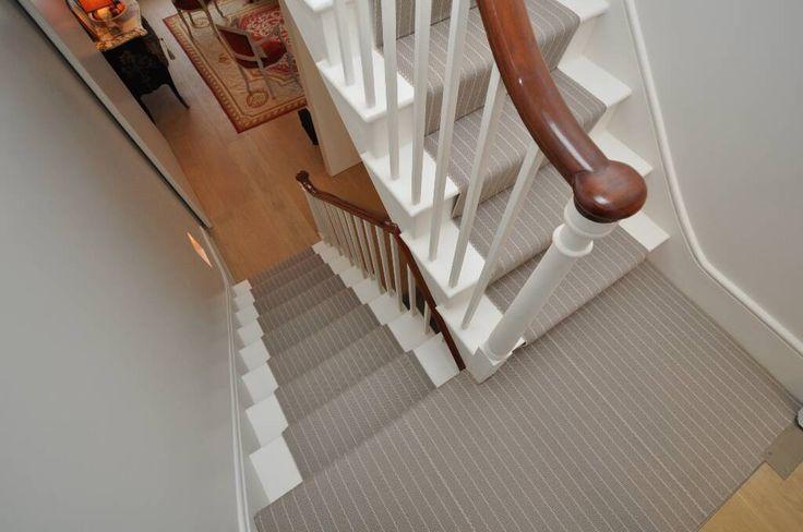 Hartley & Tissier Stripes Flatweave CF06 Stair runner carpet