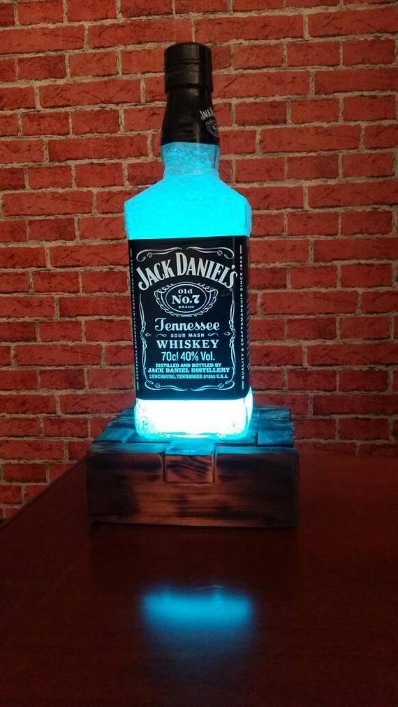 Jack Daniels Upcycling Lampe In 2020 Mit Bildern