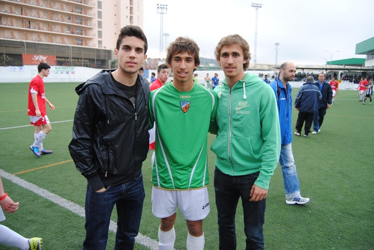 2013-03-29 Marc y Marc Muniesa, con su hermano Jan.