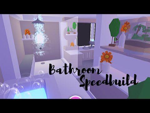 Bathroom Speedbuild Adopt Me Roblox Youtube In 2020 Simple Bedroom Design Cute Room Ideas Cute Bathroom Ideas
